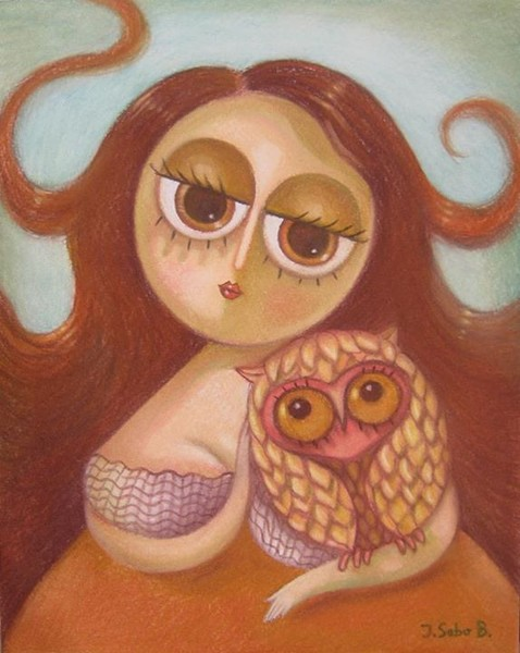My little owl 4 (SOLD)