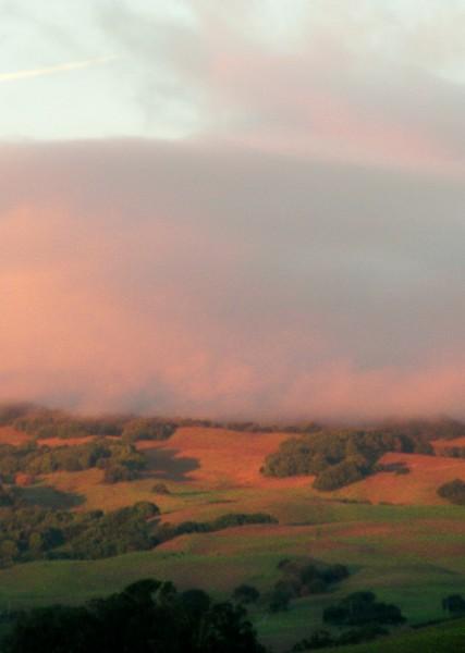 sonoma Mountain Sunset 2