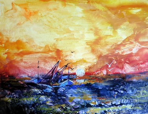 Mersea Island Sunset