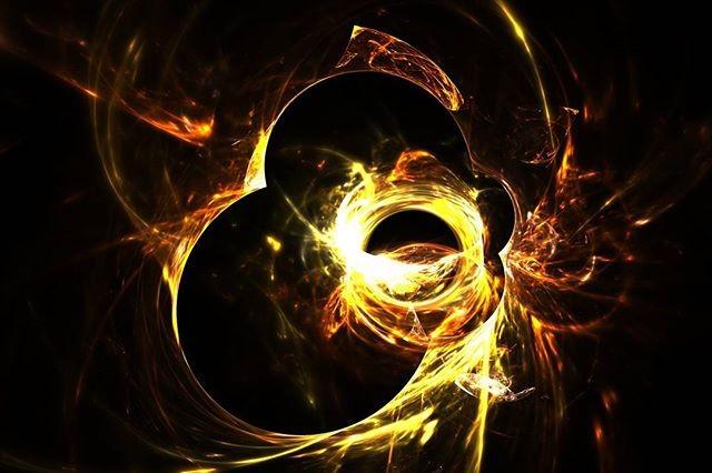 Dying sun · · · #fractal #fractalart #fractals #digitalart #art #fractalplanet #amazingfractals #fra