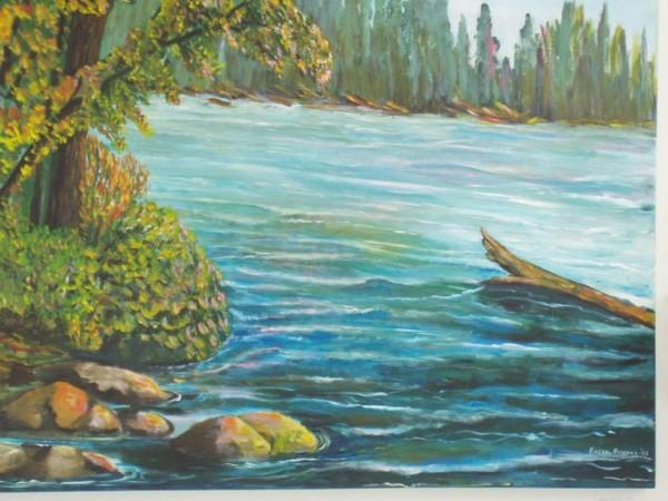 Paint lake, Manitoba.