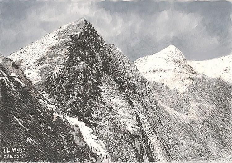 Lliwedd Peak, Snowdonia