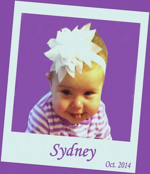 Sydney, My G-G-G-Granddaughter....