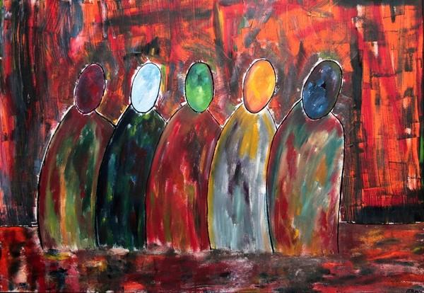 Les mendiants (de St-Eustache)