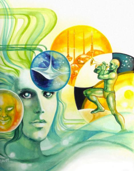 Fantasy Cover Illustration