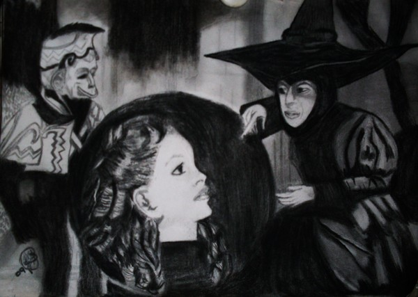 WIZARD OF OZ WICKED WITCH CRYSTAL BALL