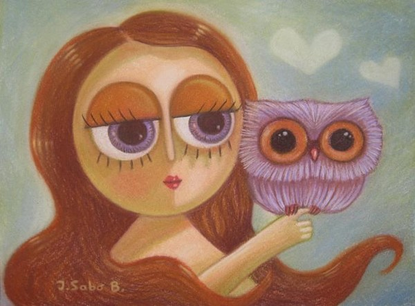 My little owl 5 (SOLD)