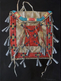 Ration Ticket Bag - American Indian