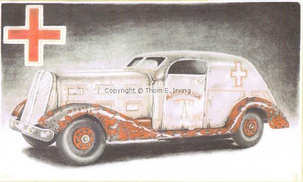 1920's Ambulance