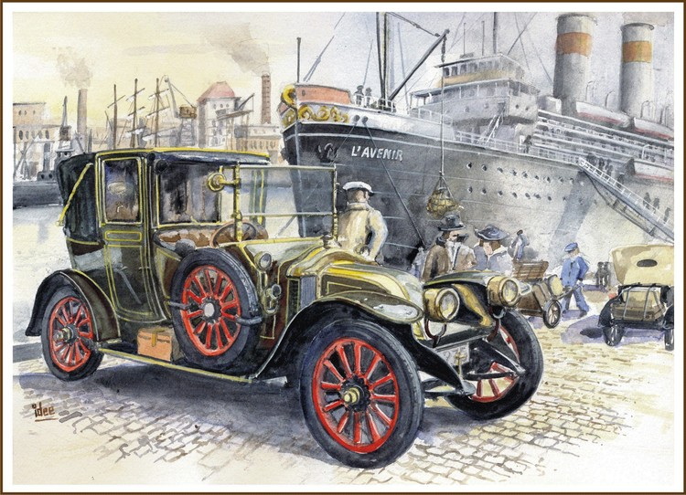 Renault of the year 1913