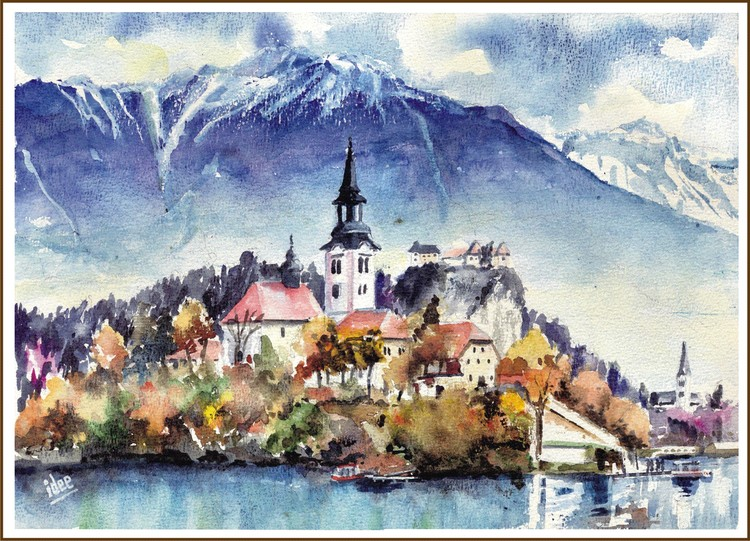 The end of the summer in Bled
