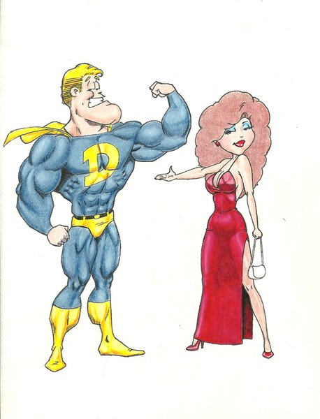 Super Dude and Darlene