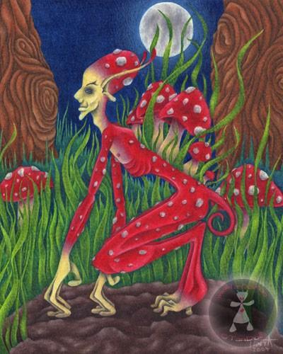Mushroom Sprig