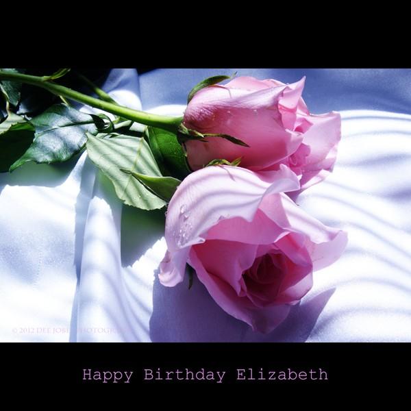 Happy Belated Birthday Elizabeth