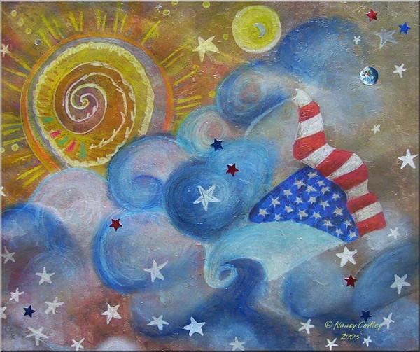 Stars, Stripes and the Heavens.