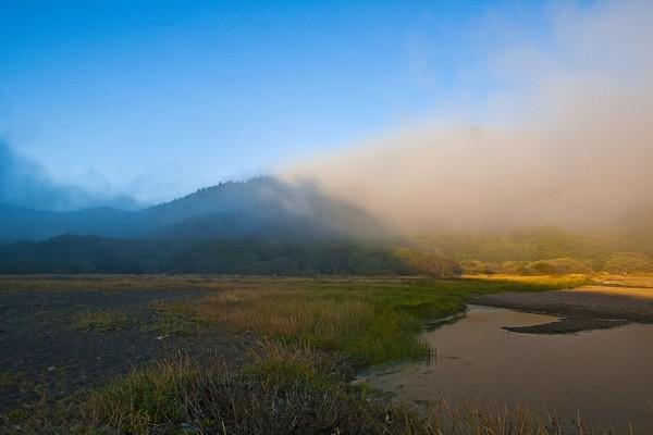 Lost Coast Foggy Sunset