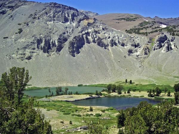 Two Glacial Lakes