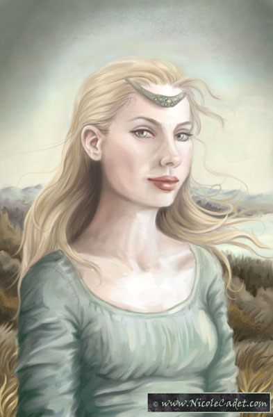 Genevieve of the white wave
