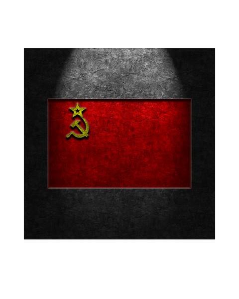 USSR Flag Stone Texture