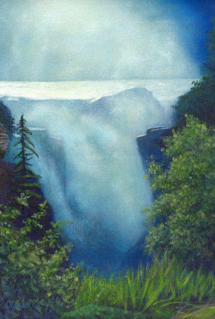 Athabaska Falls Alberta Canada