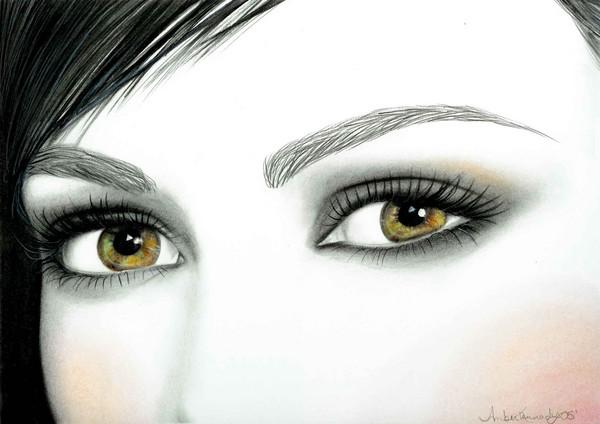 Gentle Brown Eyes