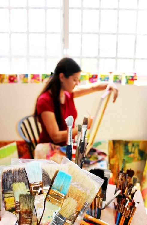 Karen Muro Let's paint