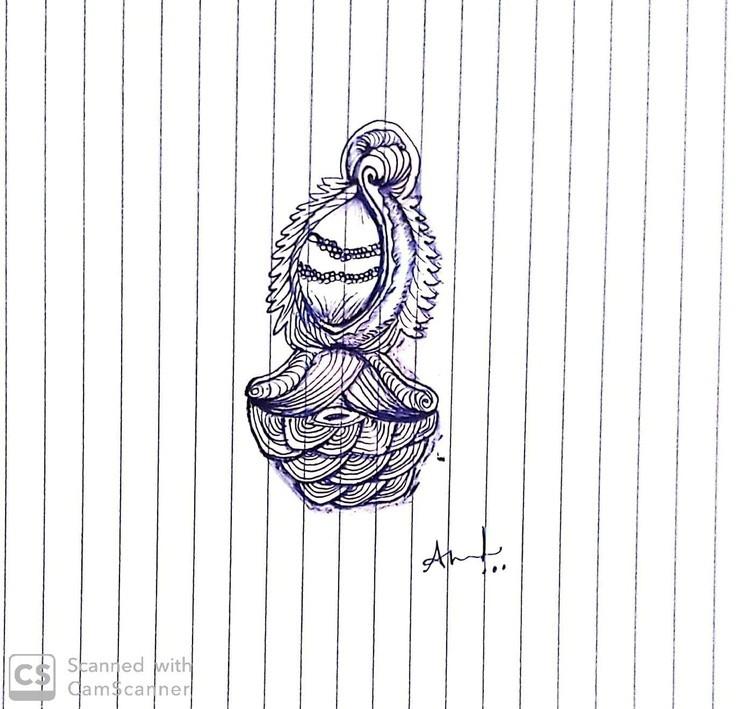 Doodle art...ammulu 02