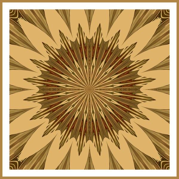 Earth Toned Kaleidoscope (One)
