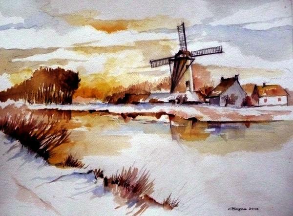Winter in Flanders