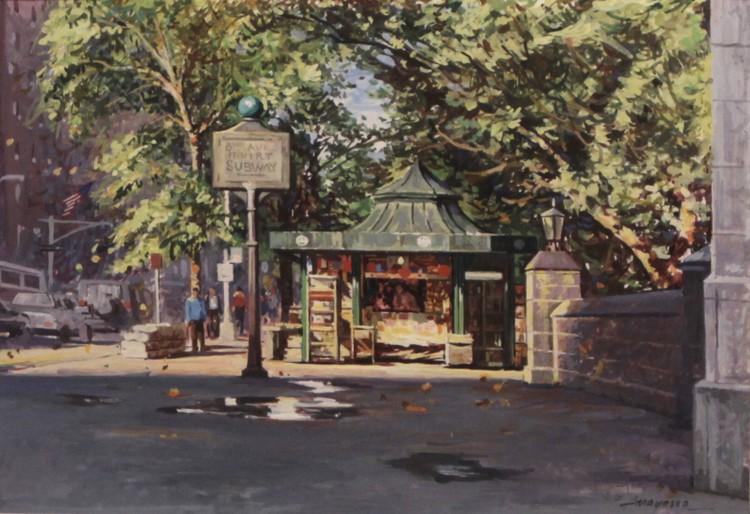 Central Park Newstand