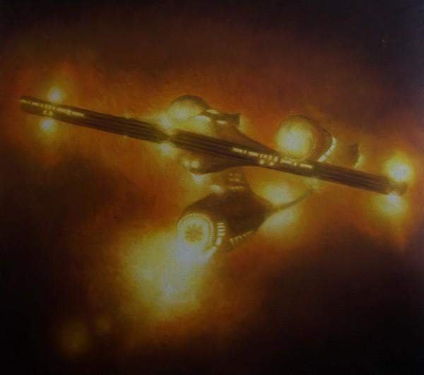 The USS Enterprise, NCC 1701