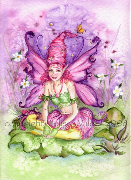 Pink! The Cotton Candy Faery