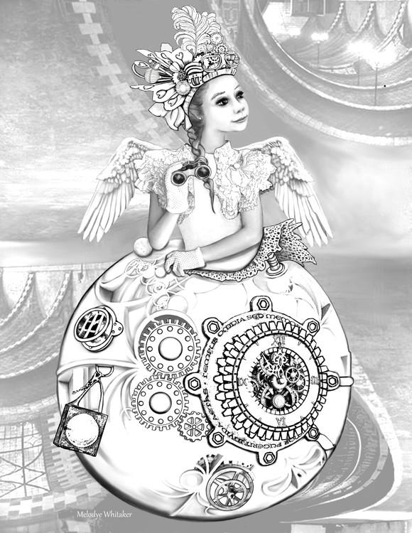 Steampunk Fairy of the Opera