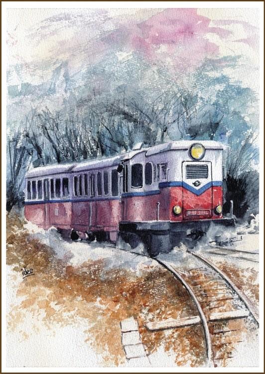 Rural diesel train