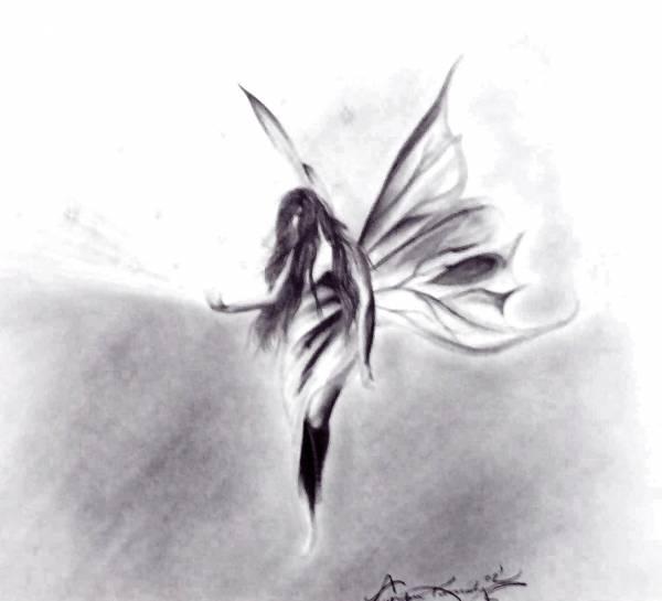 Fairy with light