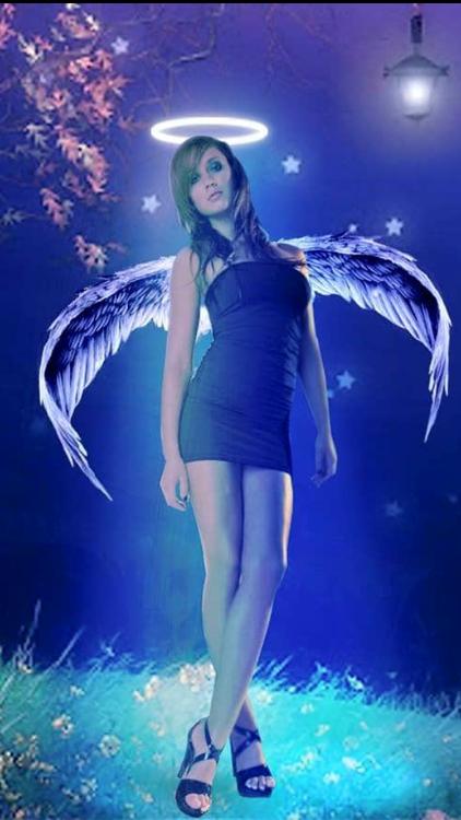 The flying Angel (Dark Side)
