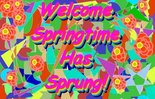 Emily Has Brought Springtime!