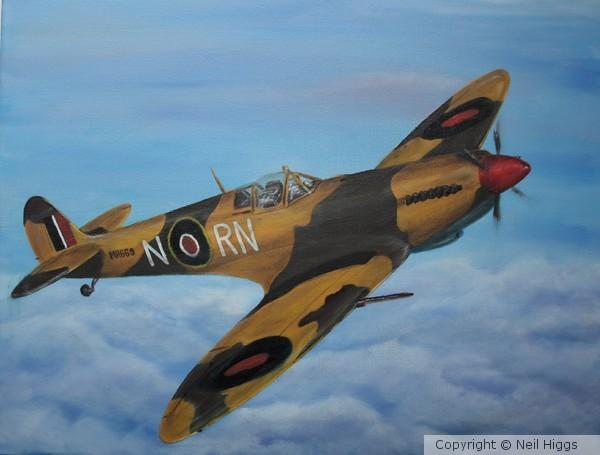 Desert Spitfire