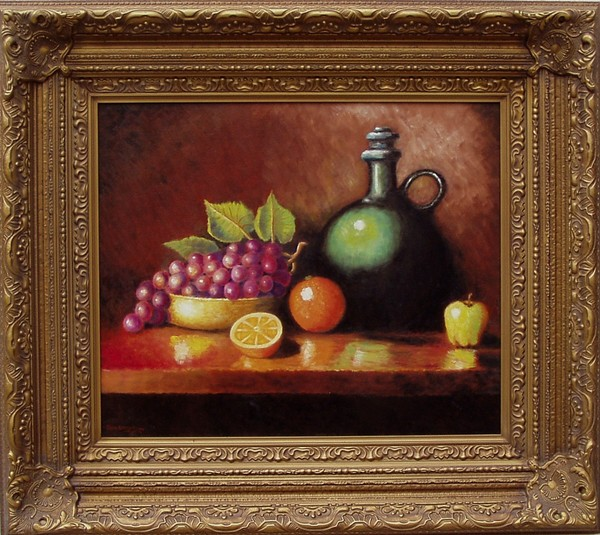 Fruit and jug