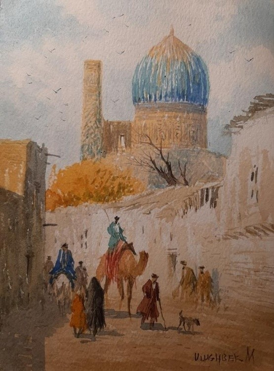 A street in old Samarkand