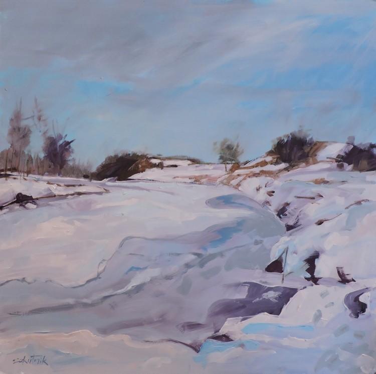 Deep in Snow (not framed)