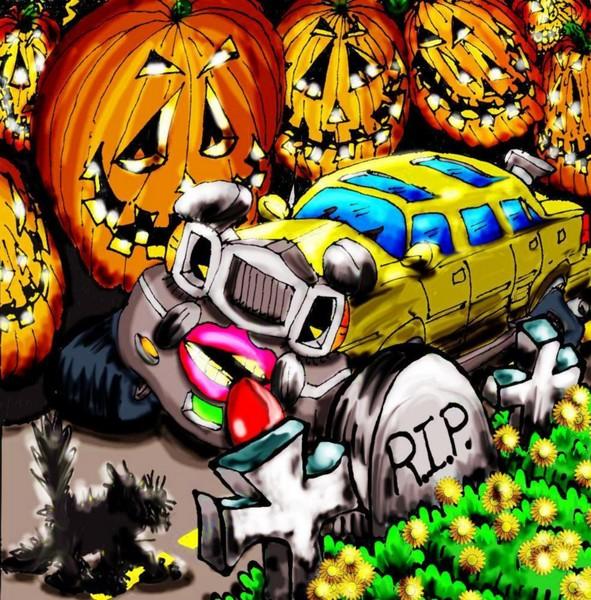Halloween Limo Ride