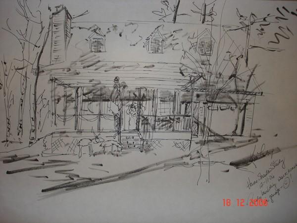 Sketchbook Series:  Residence Study