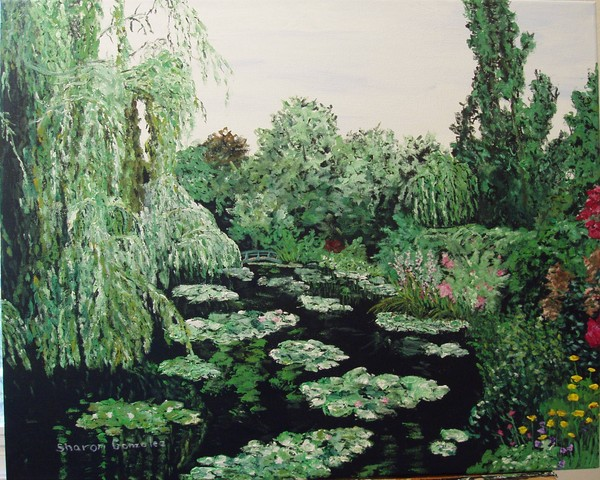 Claude Monet's Water Lily Pond #2
