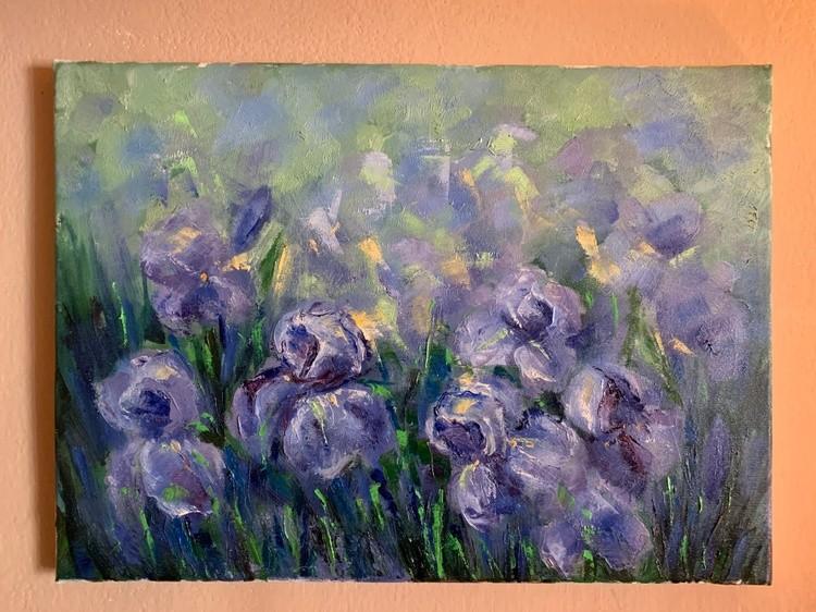 impression of irises