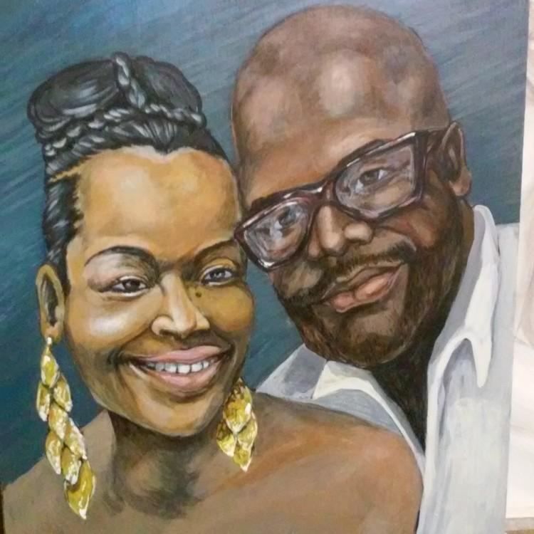 Commission Portrait Oil Painting