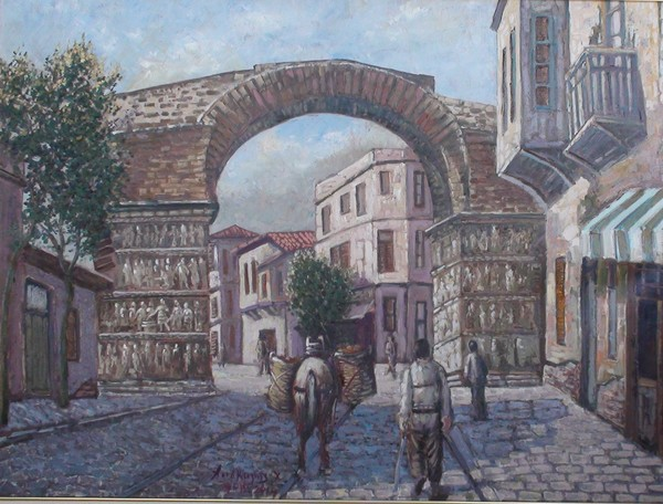 The arch of Salonica