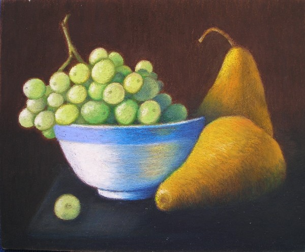 Grapes and Pears