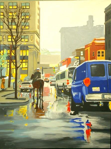 Spring Rain; Light & Lex.- sold