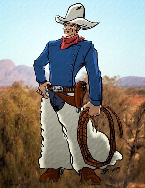 Cowboy on the Range